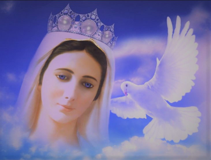 Mesaj Ceresc de la Fecioara Maria-Regina Păcii,vineri 27.04.2018