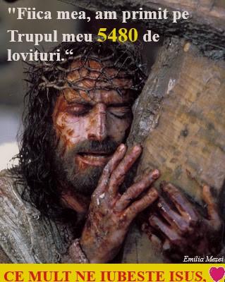 Stiți câte lovituri a primit Domnul Isus pentru păcatele noastre? 5480 de LOVITURI!!!
