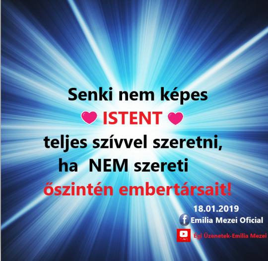 Mennyei sugallat – 2019. február 18.
