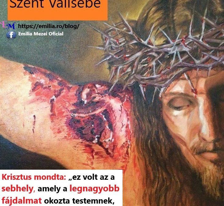 Jézus Krisztus Szent Vállsebe,Tudtad?