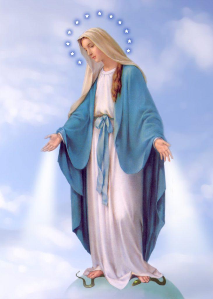 Fecioara Maria va zdrobi capul șarpelui