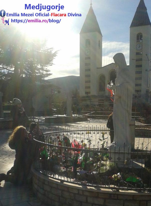 Mesajul primit și înregistrat la Medjugorje de la Fecioara Maria-Regina Păcii,Mama Noastră Cerească