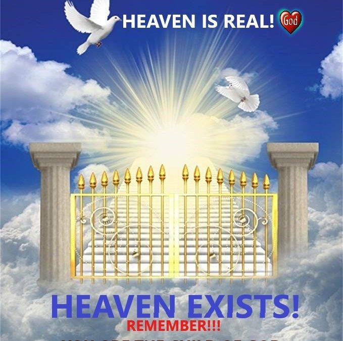 INSPIRAȚIE DIVINĂ 29.02.2020 NOI SUNTEM COPII LUI DUMNEZEU ȘI MOȘTENITORII PARADISULUI!