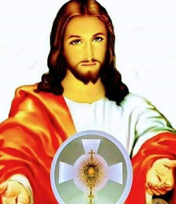 Mesaj de la Domnul Isus joi 4.06.2020 în timpul Adorației Euharistice