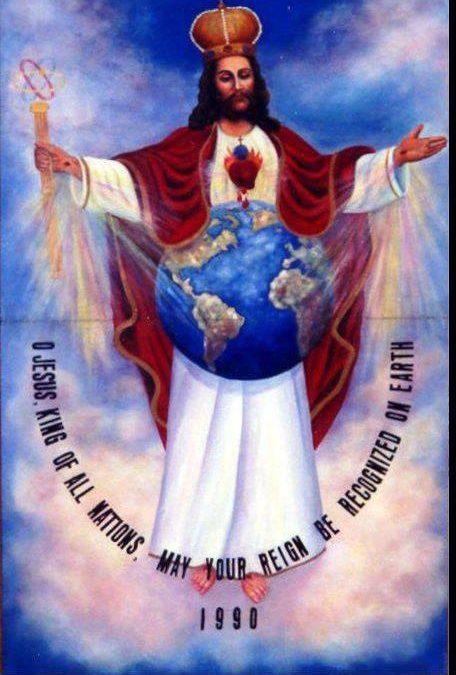 """Novenă de mulţumire în cinstea lui """" Isus, Rege al Tuturor Naţiunilor"""" 13-21 martie 2019"""