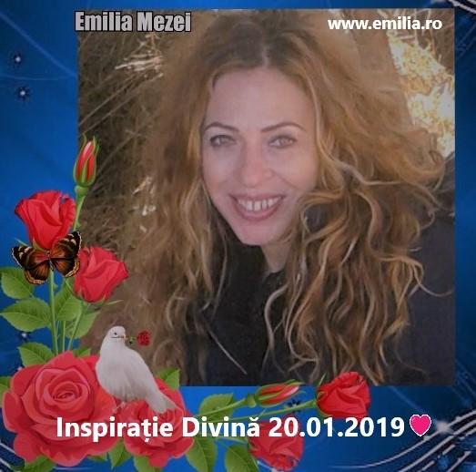 Inspirație Divină 20.01.2019