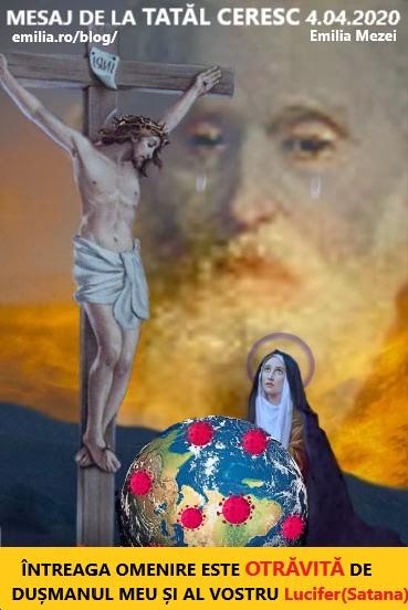Mesaj de la Tatăl Ceresc 4.04.2020