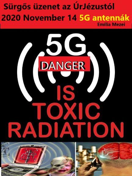 Sürgős üzenet az ÚrJézustól 2020 November 14. 5G antennák